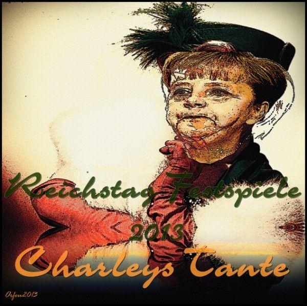 Orfeu de SantaTeresa - 'Charleys Tante ' - 100 x 100 cm - digital technics…