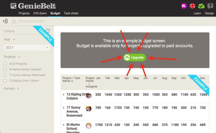 #Budget #Portfolio - new GenieBelt #feature
