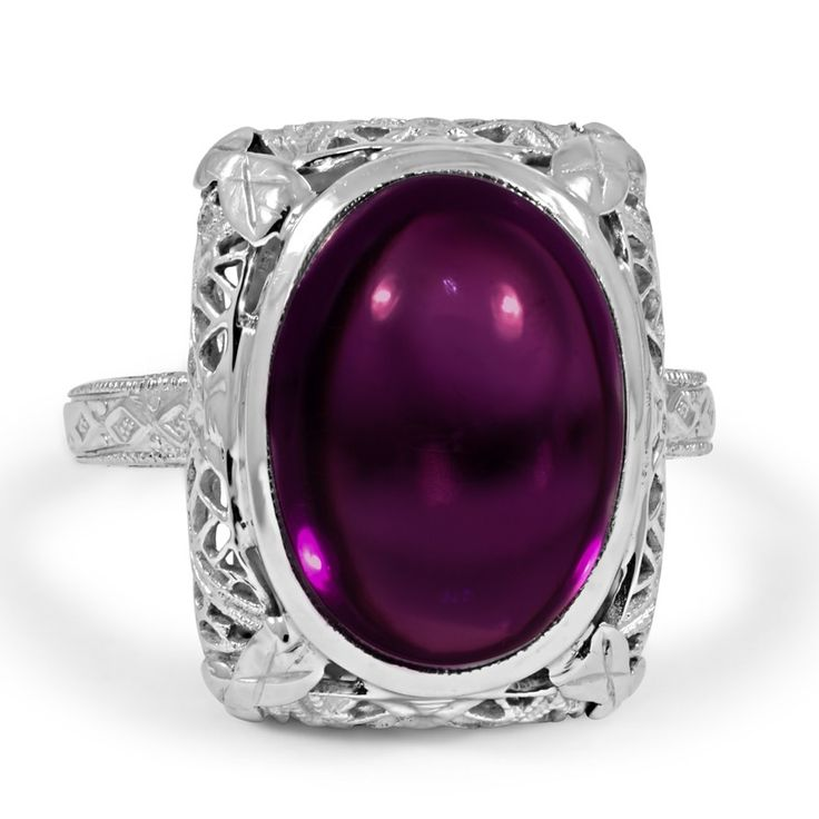 The Timberly Ring, 1920's amethyst