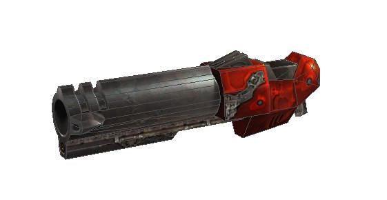 Quake III Arena - Rocket Launcher Free Paper Model Download - http://www.papercraftsquare.com/quake-iii-arena-rocket-launcher-free-paper-model-download.html#QuakeIIIArena, #RocketLauncher