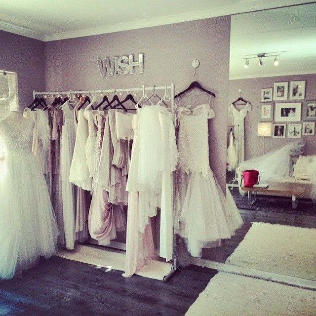 The Joss Bridal studio in Rivonia, Johannesburg.
