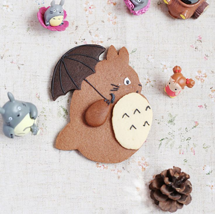 Totoro Stainless Steel Biscuit Mould //Price: $9.99 & FREE Shipping //     #studioghibli