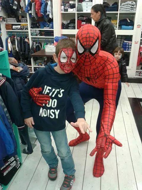 Spiderman e Baby Spiderman!! www.multiservizinnovativi.com
