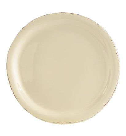 VIETRI - Crema Cream Dinner Plate- Maybe someday my dreams will come true and I will have new dinner place settings of this!