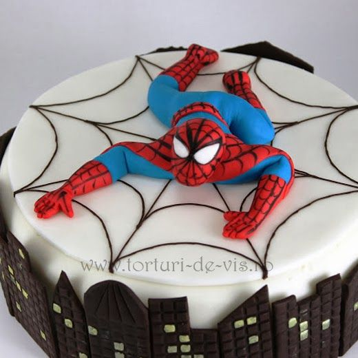 25 Best Ideas About Spiderman Birthday Cake On Pinterest