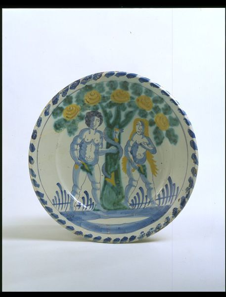 The Temptation | Brislington pottery | V&A Search the Collections