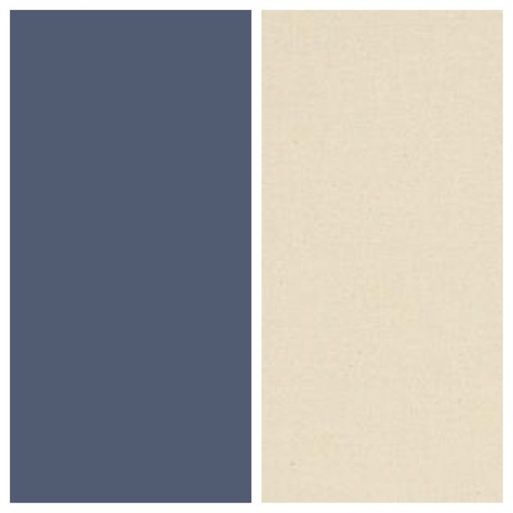 Breton Blue And Natural Calico Colour Scheme Pinterest