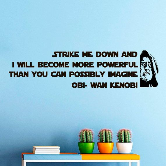 Famous Obi Wan Quotes: Best 25+ Star Wars Stickers Ideas On Pinterest