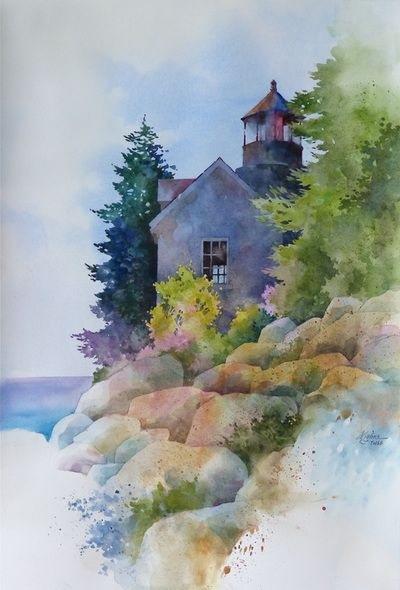 Alexis Lavine, NWS<br />Luminous Watercolors <br /> & Inspiring Art Instruction