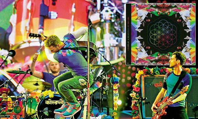 Coldplay's tour: stadium rock with the Day-Glo aesthetic of CBeebies