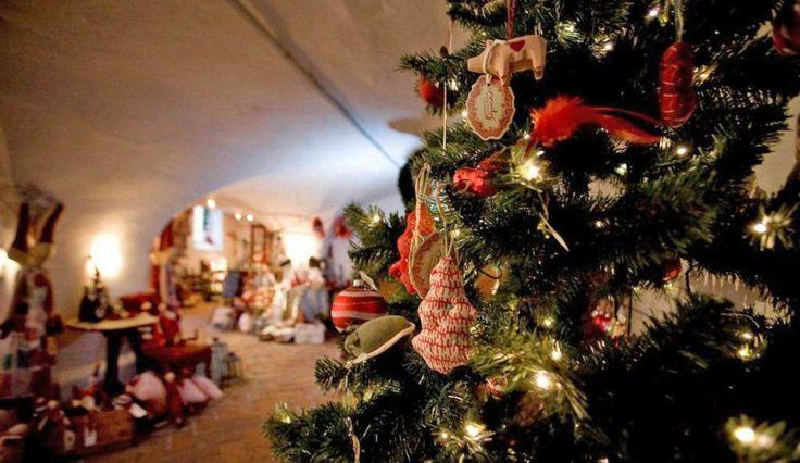 Besøg hos høkeren - Peters Jul i Ribe