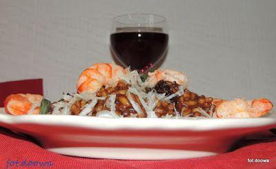 Moje Małe Czarowanie: Pomidorowe risotto z krewetkami