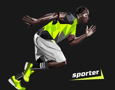 New brand was designed for sports development in Moldova. Competitions, seminars, blogs, videos, trainings — that's what sporter is.