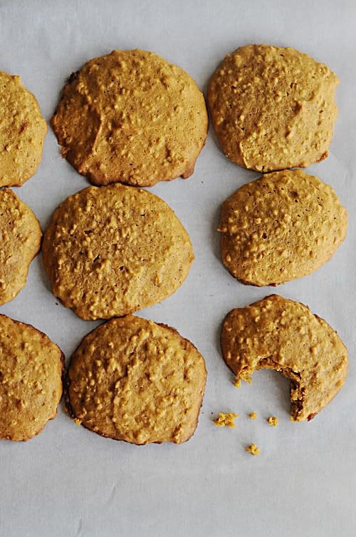 Oatmeal Pumpkin Cookies  - OMG made these and they're DELICIOUS!!