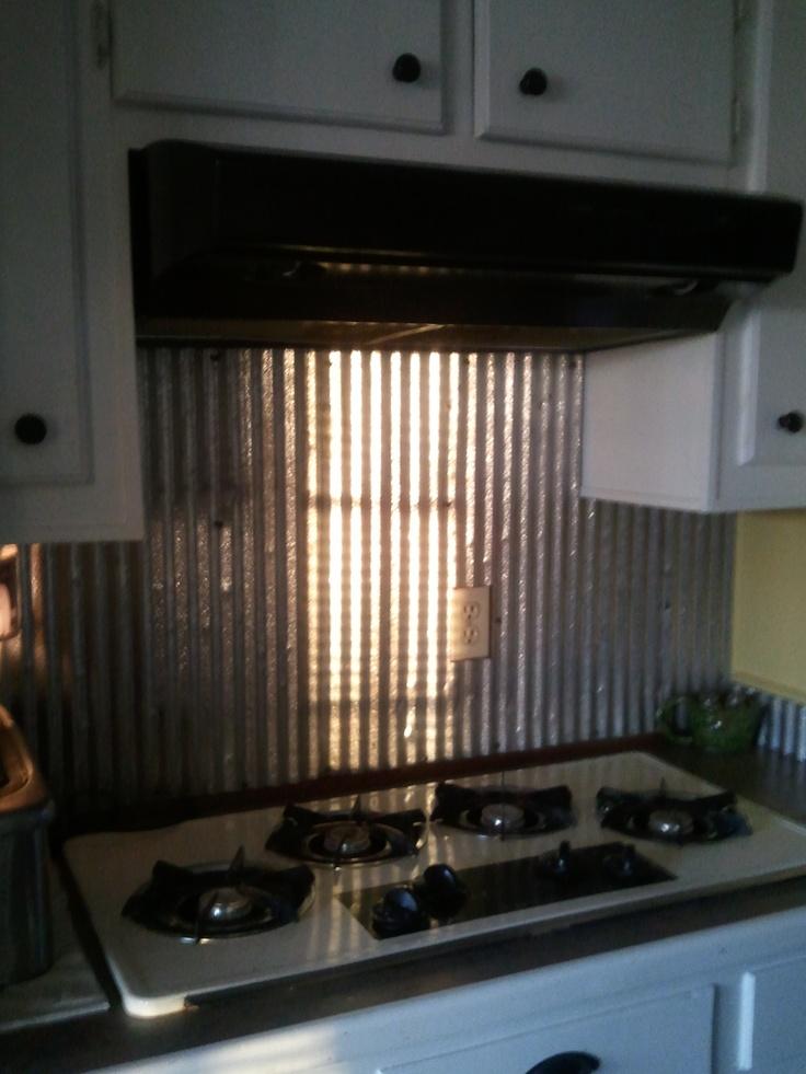 10d2b1b009fa5b40f9808a1b2eea1f44 Jpg 736 981 Tin Backsplash Kitchen Tin Backsplash Metal Backsplash Kitchen