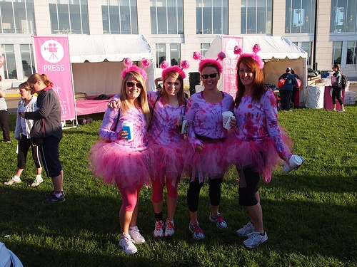 Muffin Town at Avon Walk for Breast Cancer Walk 2012