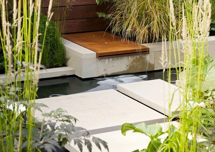 Moderni puutarha on tyyliltään selkeä ja pelkistetty. Katso Viherpihan vinkit ja luo puutarhaasi modernia henkeä vahvoilla linjoilla ja graafisilla elementeillä!