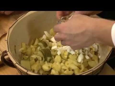Moravský bramborový salát Jak šmakuje Moravskoslezsko? - YouTube