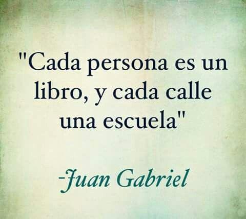 Juan Gabriel.