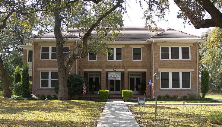 John Nance Garner House in Uvalde County, Texas.