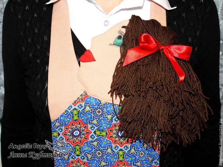"""Купить Мужской фартук """"Любовь"""" (подарок для мужчины на любой праздник) - фартук, фартук для кухни"""