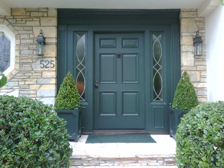 Nice wide front door to take up whole located entranceway space