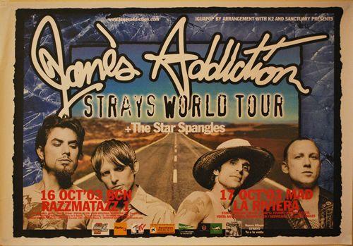 JANES ADDICTION, Tour 2003