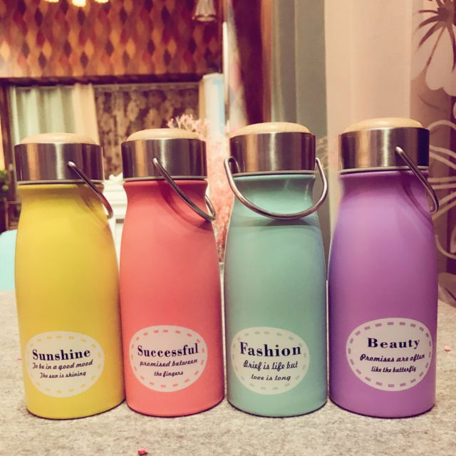 Kids Thermos Cup Cute Insulated Cup Drinkware Water Bottle Milk Coffee Mug Gifts | eBay