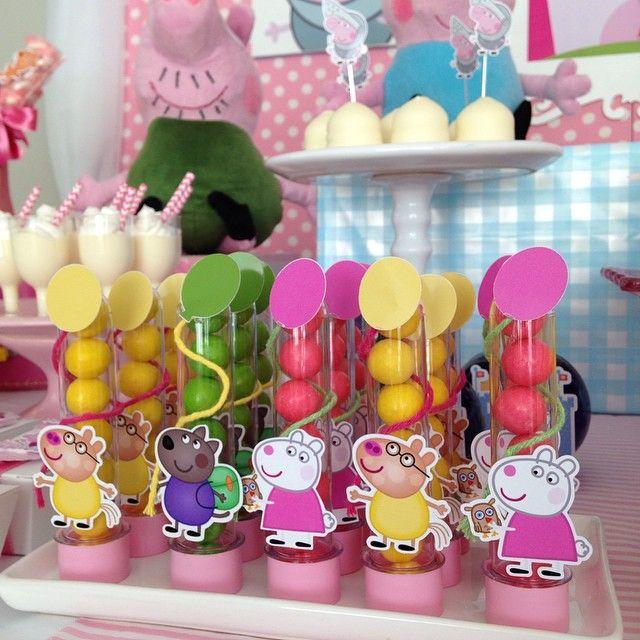 Peppa Pig candy tubes