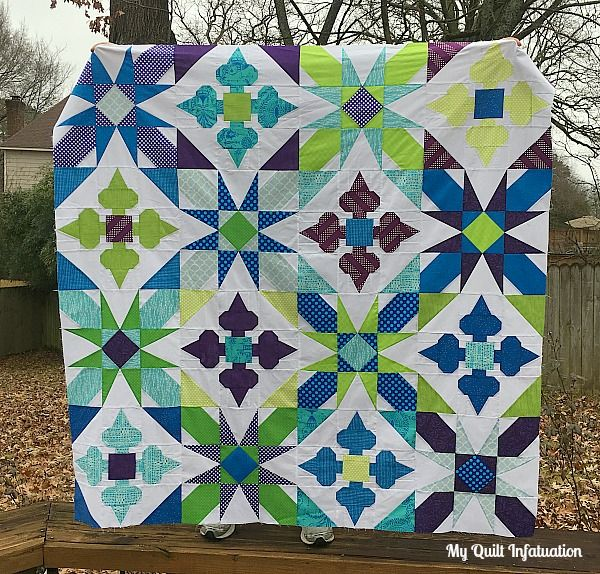 Happy Needle and Thursday! This has been a busy week around here. In case you missed it, on Monday I kicked off the Classic Meets Modern BOM Quilt Along, and I finally got back to my machine after t