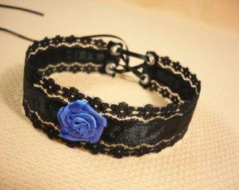 Gargantilla de estilo victoriano de encaje negro por estylissimo