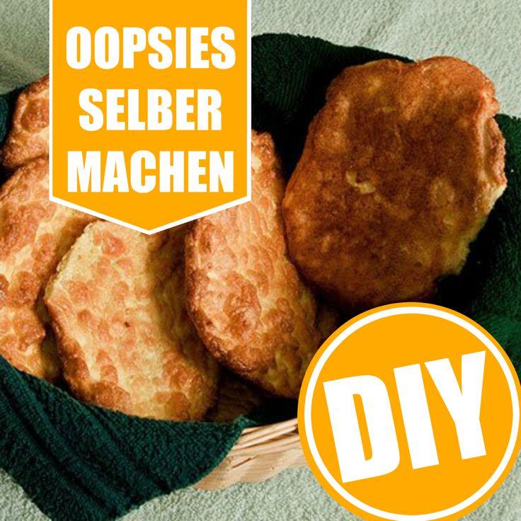 Oopsies - kommen ganz ohne Mehl aus und sind schnell gemacht. Hier geht`s zum Rezept für die eiweißreichen Low-Carb-Brötchen: http://eatsmarter.de/ernaehrung/gesund-ernaehren/oopsies-selber-machen