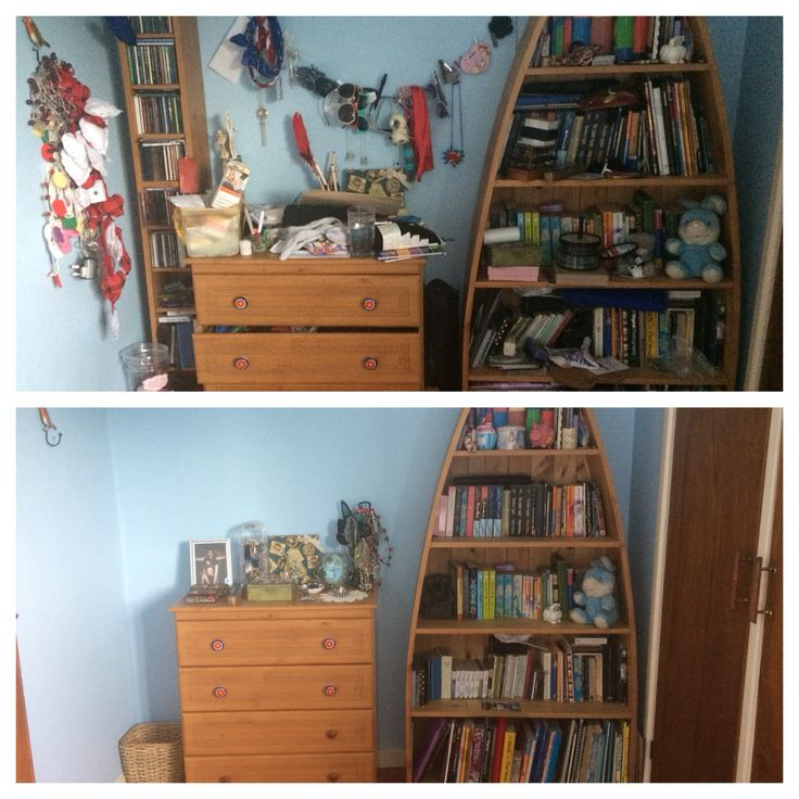 Before And After With The Konmarie Method Konmari Home