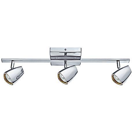 Eglo Corbera Polished Chrome 3 Light Track Kit Style 8r016