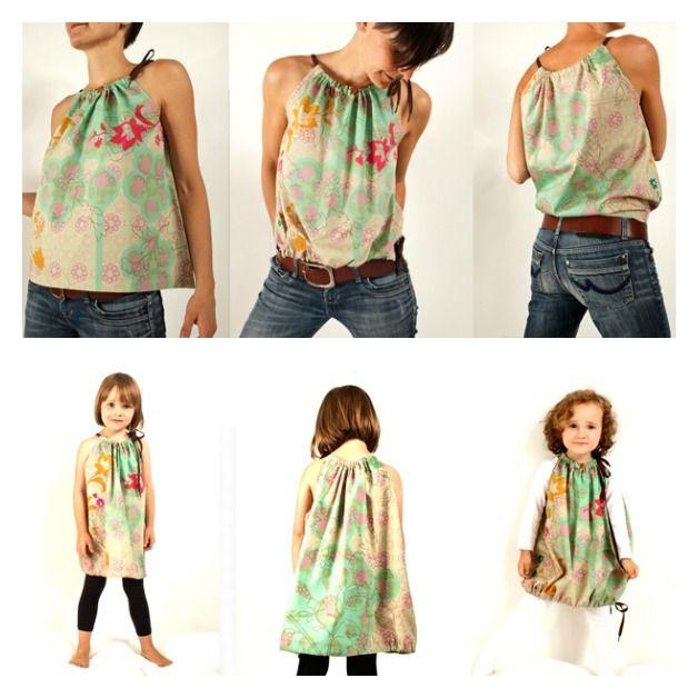 Top donna o vestito per bambini? Scegli tu! Un semplice tutorial per creare un capo d'abbigliamento fai da te. Scopri!