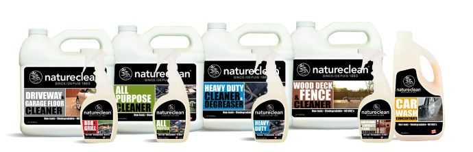 Branding and packaging. Full line design for eco-friendly heavy duty cleaners.