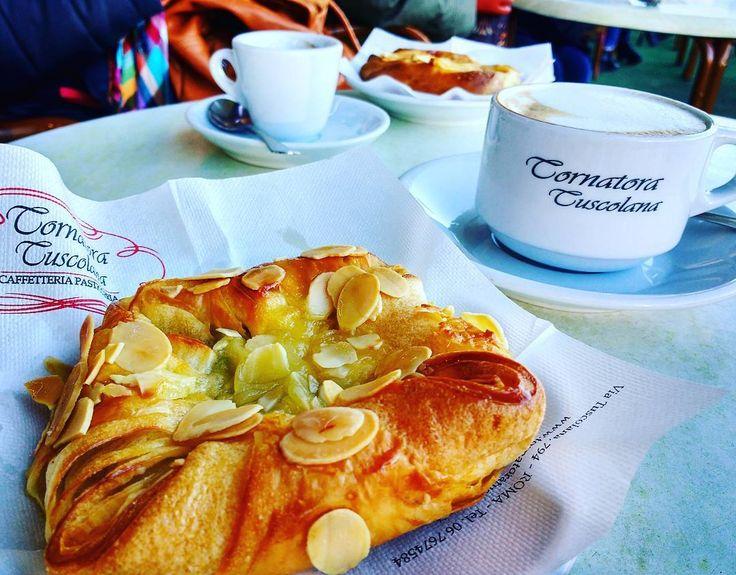 Stop for breakfast before exploring Rome. Only 5 minutes walk from #lillihouserome. Highly recommended!!!!! . Parada para o café da manhã antes de explorar Roma!!!!!  Apenas 5 minutos à pé da #lillihouserome. Super recomendado!!!! . Stop per la colazione prima di esplorare Roma. Solo 5 minuti a piedi di #lillihouserome. Super consigliato!!!! . #portafurba #rome #roma