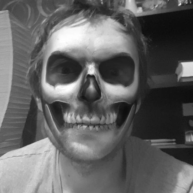 #halloween2017 #impretty #ownfun #skeletonhead