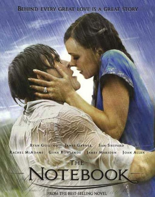 The Notebook is a deeply moving movie to watch as a couple, where you learn that you must follow your heart in love.  #thenotebook #funathome #moviesforcouples #bestmoviesforcouples #funathome #homecoupleactivities #watchingmovies #funactivitiesforcouples