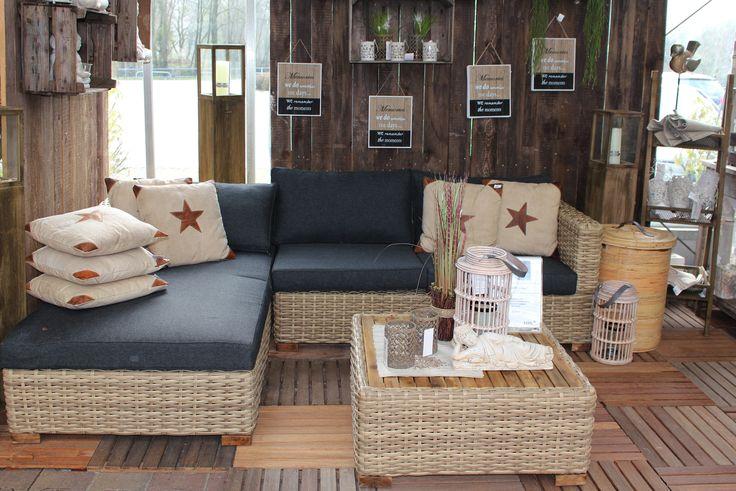 Loungegruppe Lukas In  Und Outdoor Geeignet