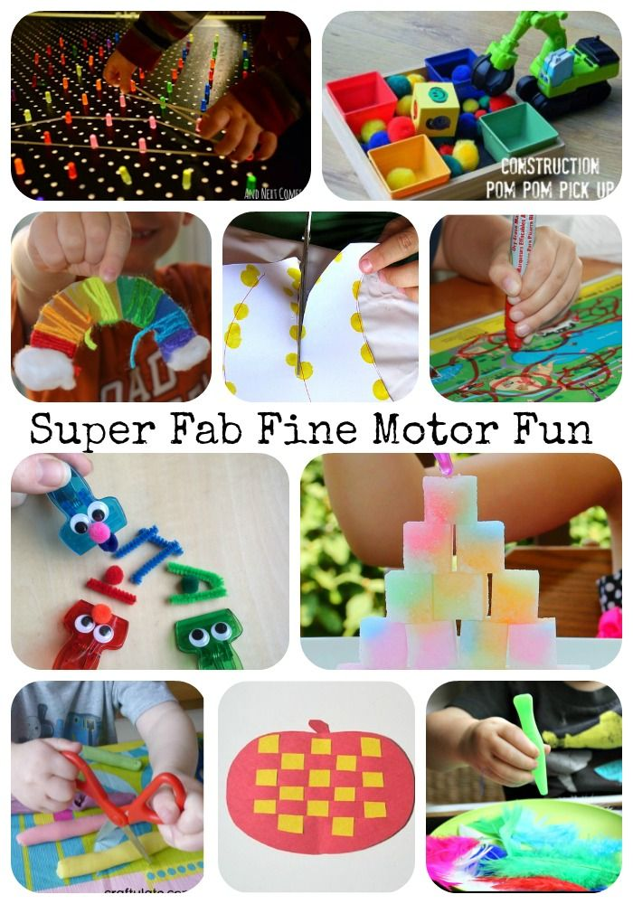 Great list of fun fine motor activities from the Fine Motor Fridays weekly collaborative series!