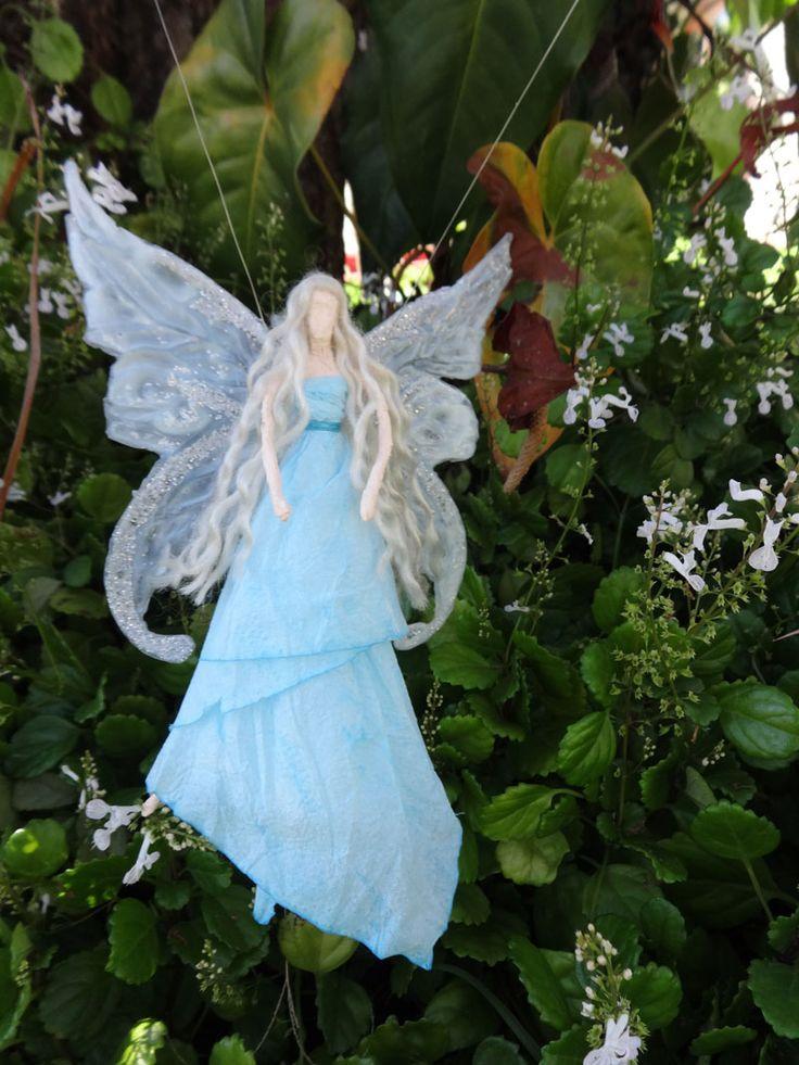 Fada azul / enfeite / asas