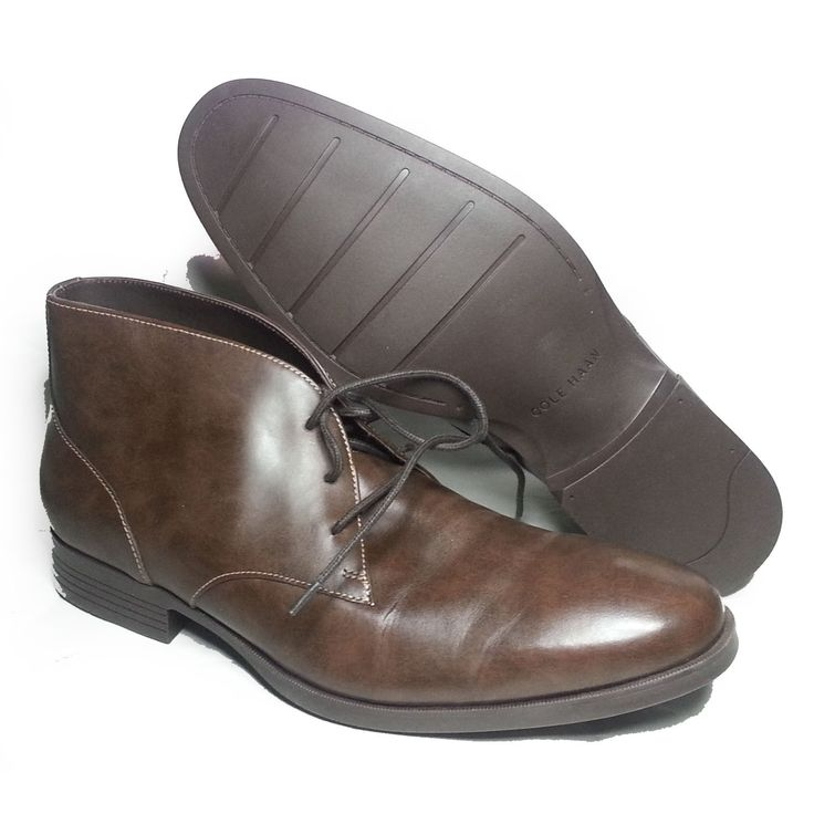 Cole Haan Men Size 10.5 Copley Chukka #boots Chestnut Brown leather C13153 INDIA ColeHaan visit our ebay store at  http://stores.ebay.com/esquirestore