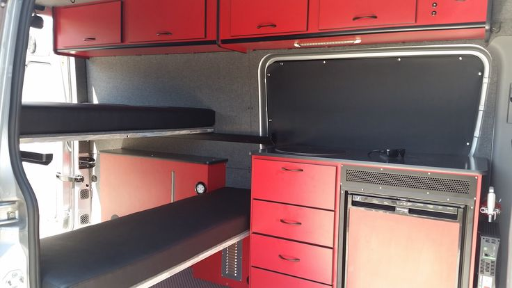 Sprinter Van Panel Bed And Benches On Pinterest