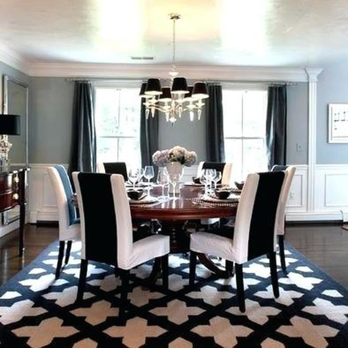 Navy And Grey Dining Room Black And White Dining Room White