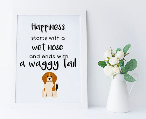 Beagle art print, beagle owners gift, beagle lovers, printable home decor, beagle lovers print, dog wall art, beagle gifts, INSTANT DOWNLOAD