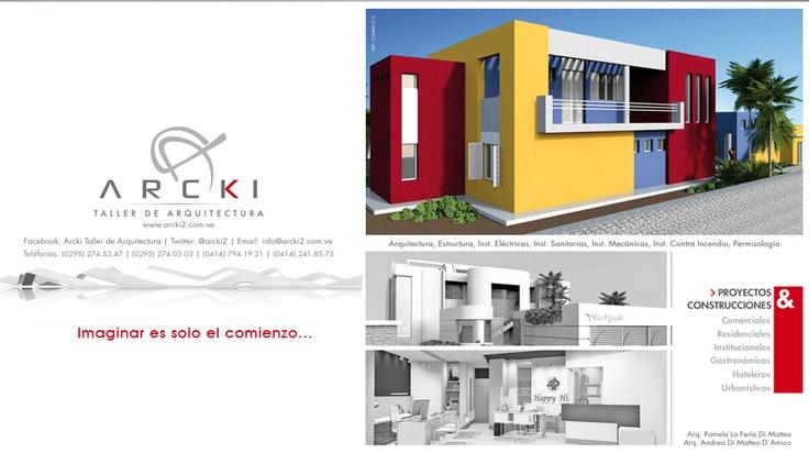 Proyectos y construcciones en la Isla de Margarita http://www.arcki2.com.ve/