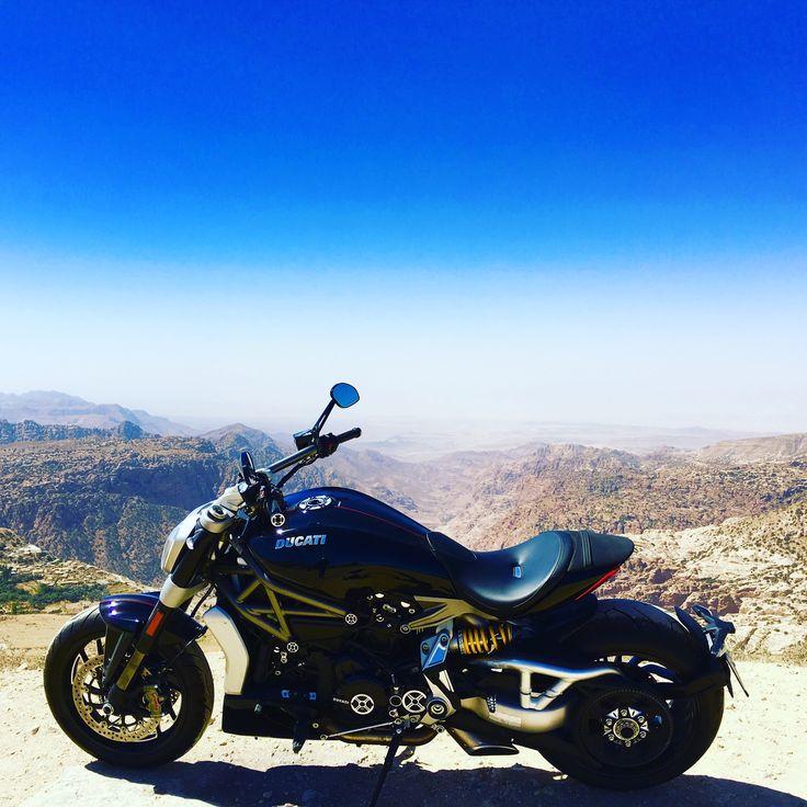 Ducati X Diavel S. Truly a beauty and a beast... #jordanianbiker