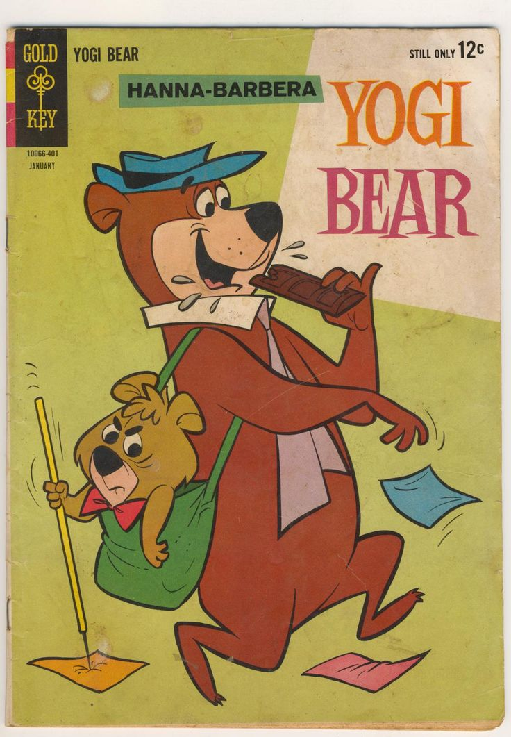 3 Cartoon Characters Always Together : Dad used to call my sister yogi and me boo i was