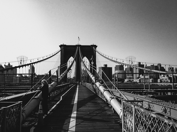 Brooklyn Bridge - such fun to walk across